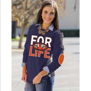"Auburn Tigers 🐅""Fan For Life"" Tee- WAR  EAGLE 🦅"